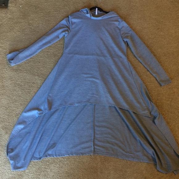 Dresses & Skirts - Long Back Hooded Dress
